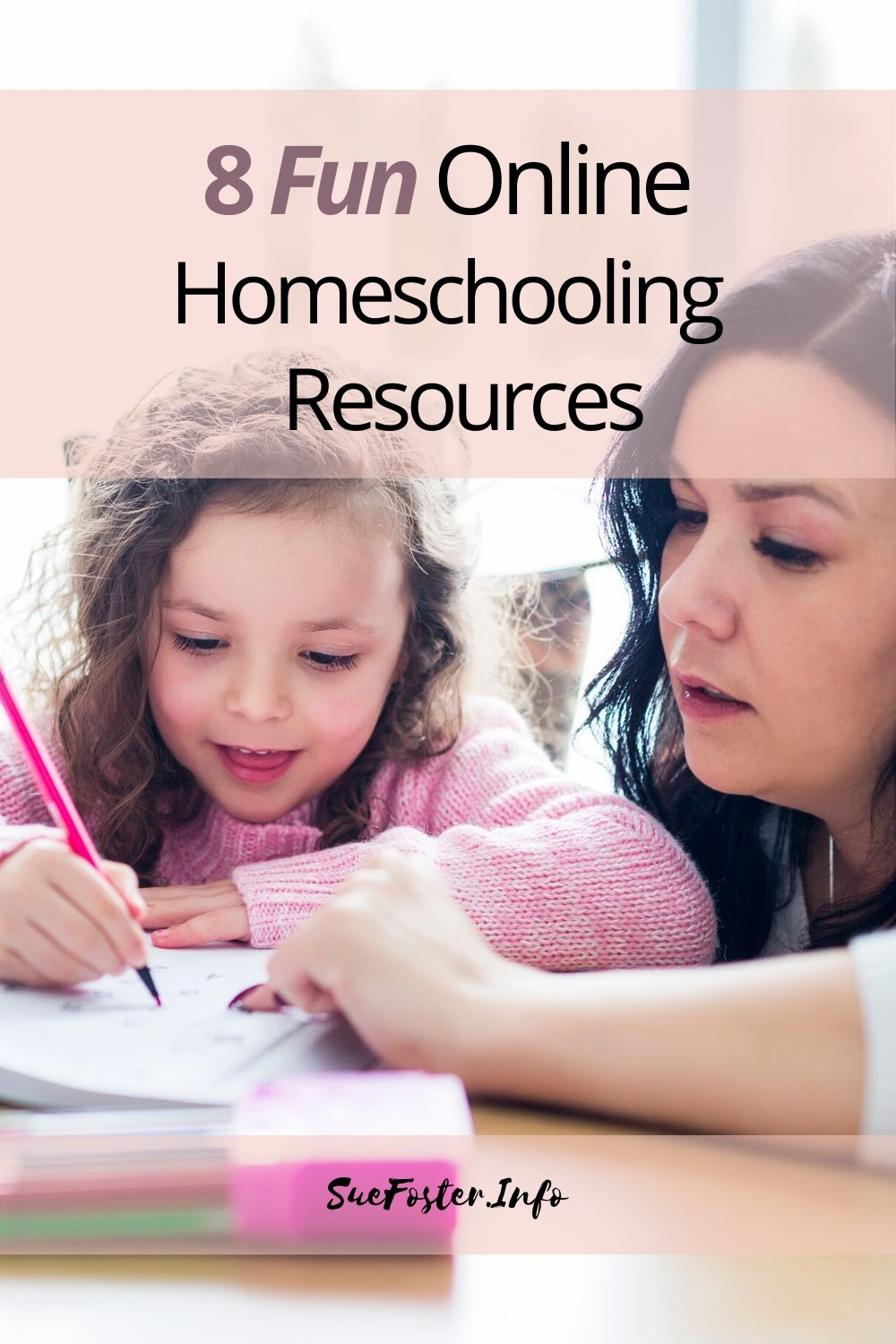 I've put together a list of  8 fun homeschooling resources that can assist you and your children with learning.