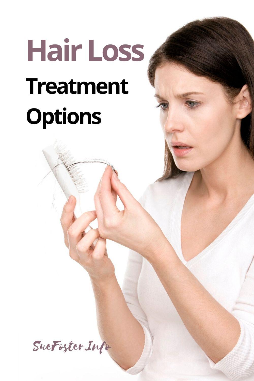 Hair loss treatment options.