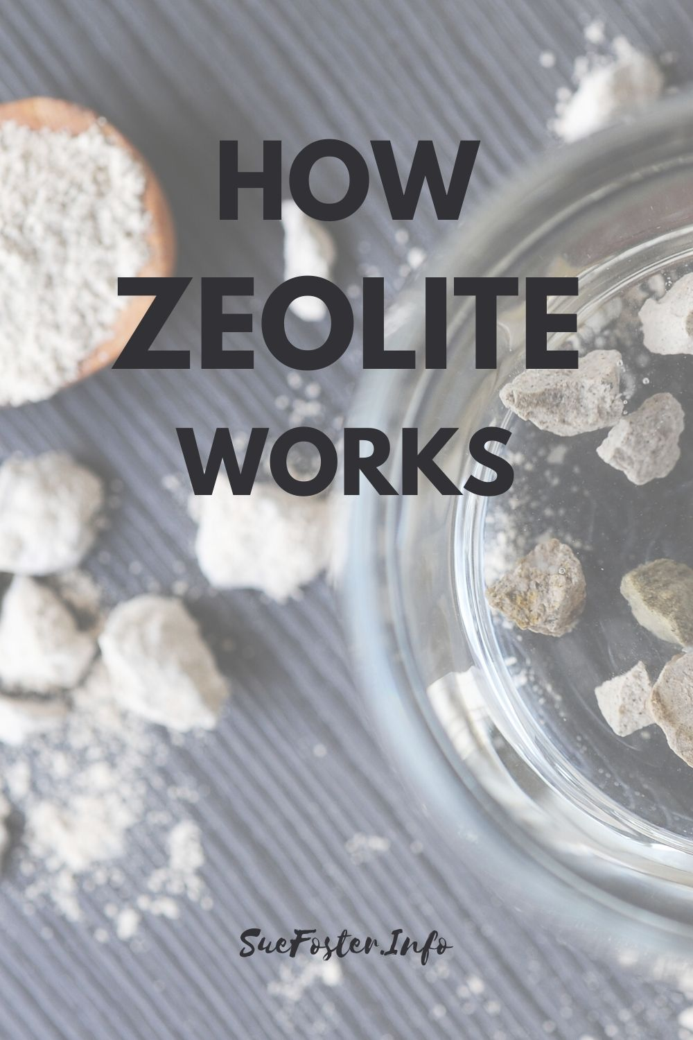 Reported benefits of using Zeolite for detox include higher energy, mental clarity and an overall improved sense of well being.