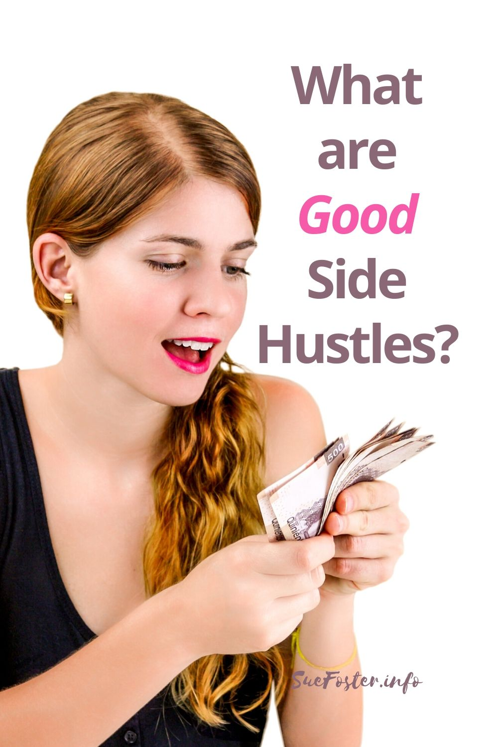 Different methods to side hustle those extra pounds.