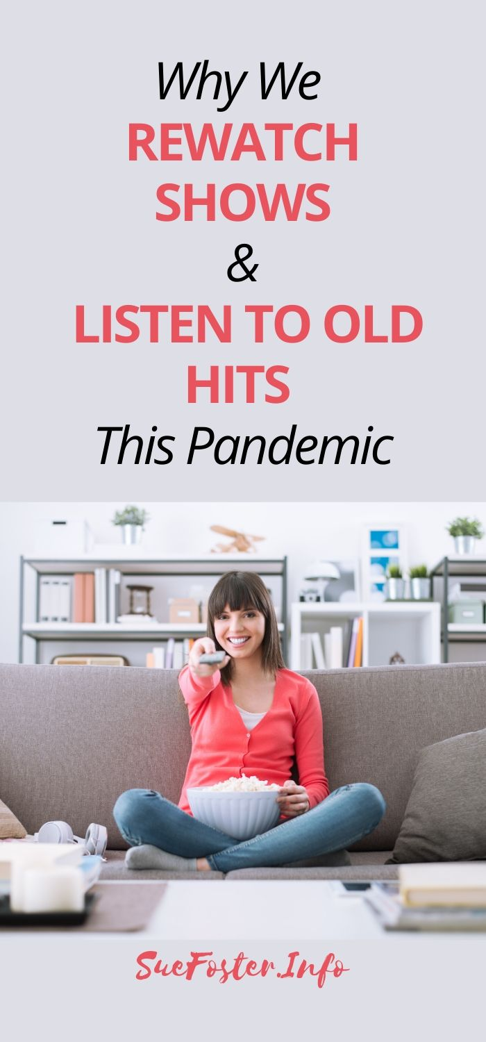 With tons of new Netflix titles and Spotify playlists available, why do we turn to our favourites these days? Is it because of the pandemic? Learn more here.