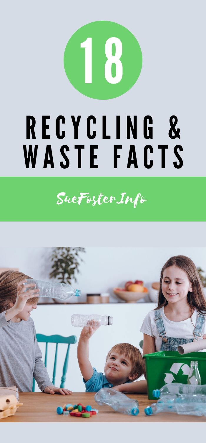 18 recycling and waste facts that will surprise you.