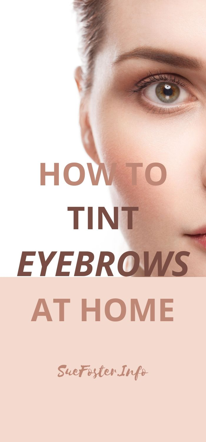 Why not save money by dying your eyebrows at home? Here's how.