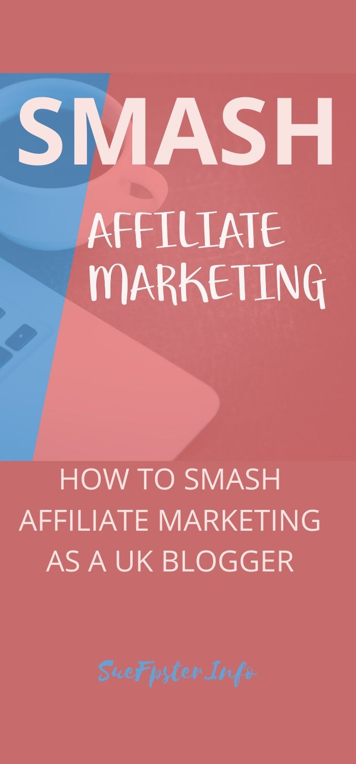 How To Smash Affiliate Marketing As A UK Blogger is a fantastic course full of valuable information.