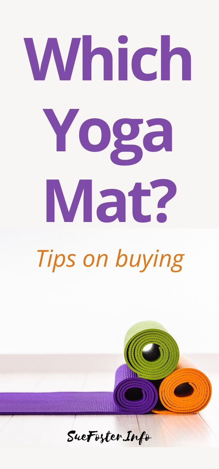 I've covered some points in this post that will help you decide which yoga mat is best for you.