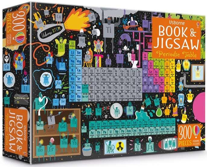 Usborne Books Periodic Table Jigsaw and Book