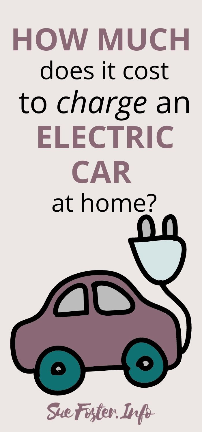 How much does it cost to charge an electric car at home?