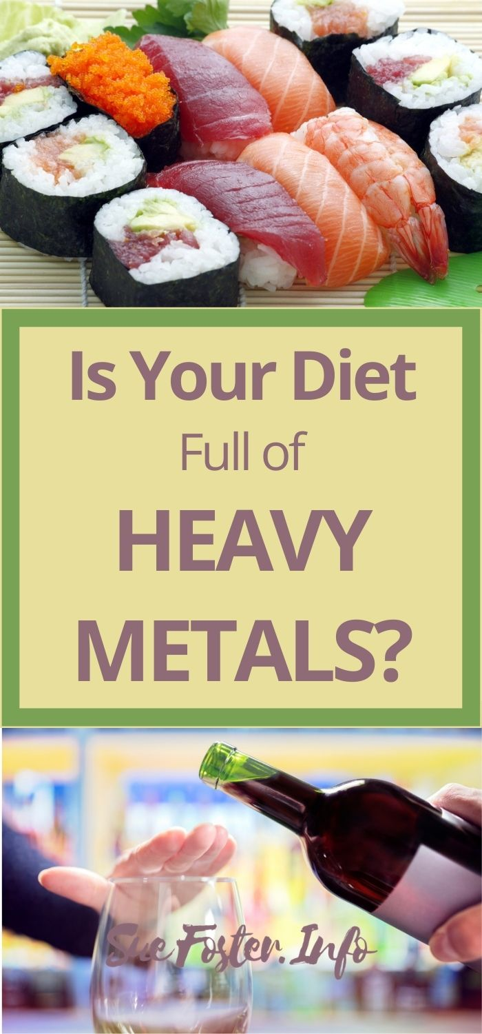 Heavy metals are all around us – including in the food that we eat.