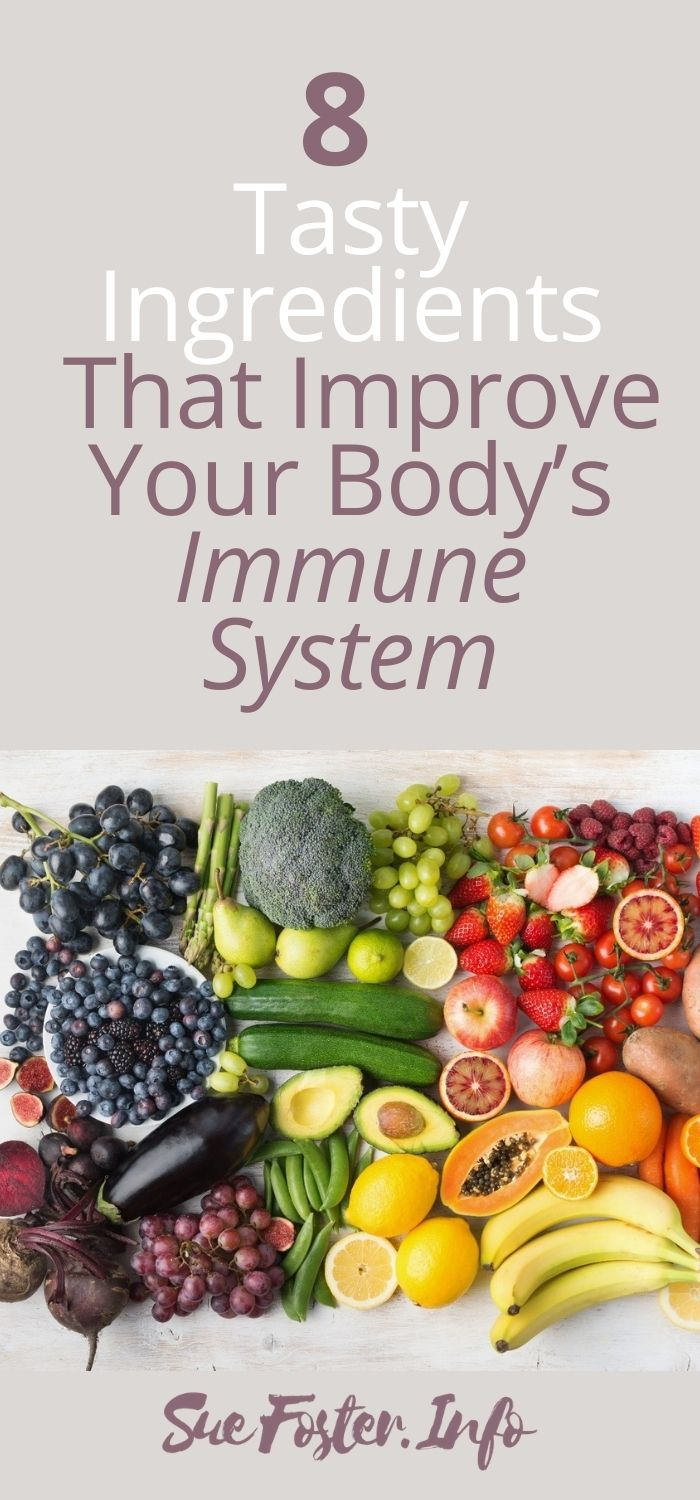 8 Delicious Ingredients That Boost Your Immune System