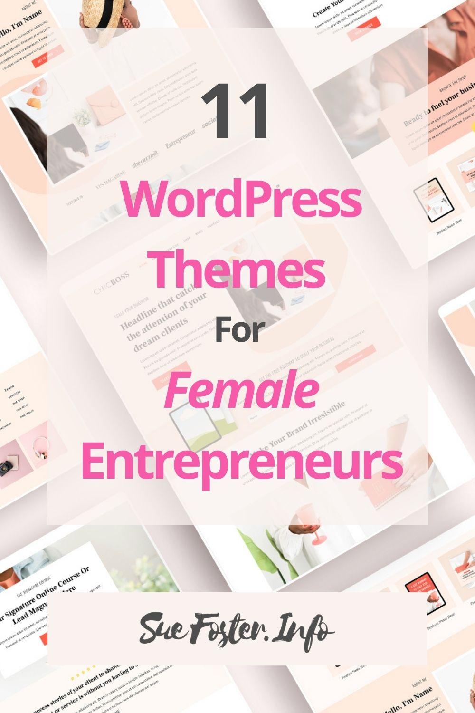 11 WordPress Themes For Female Entrepreneurs