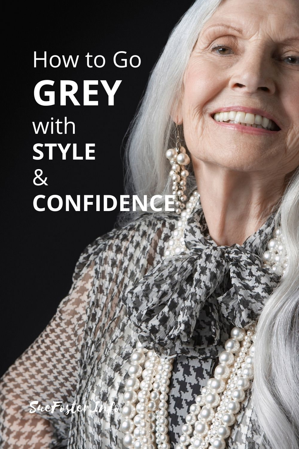 How to go grey with style and confidence.