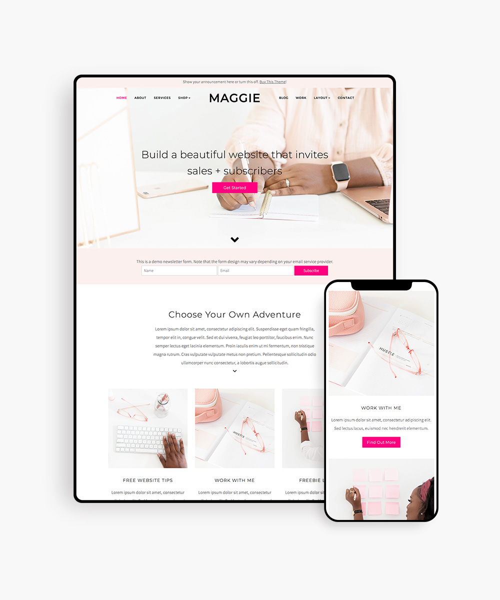 Maggie WordPress Theme