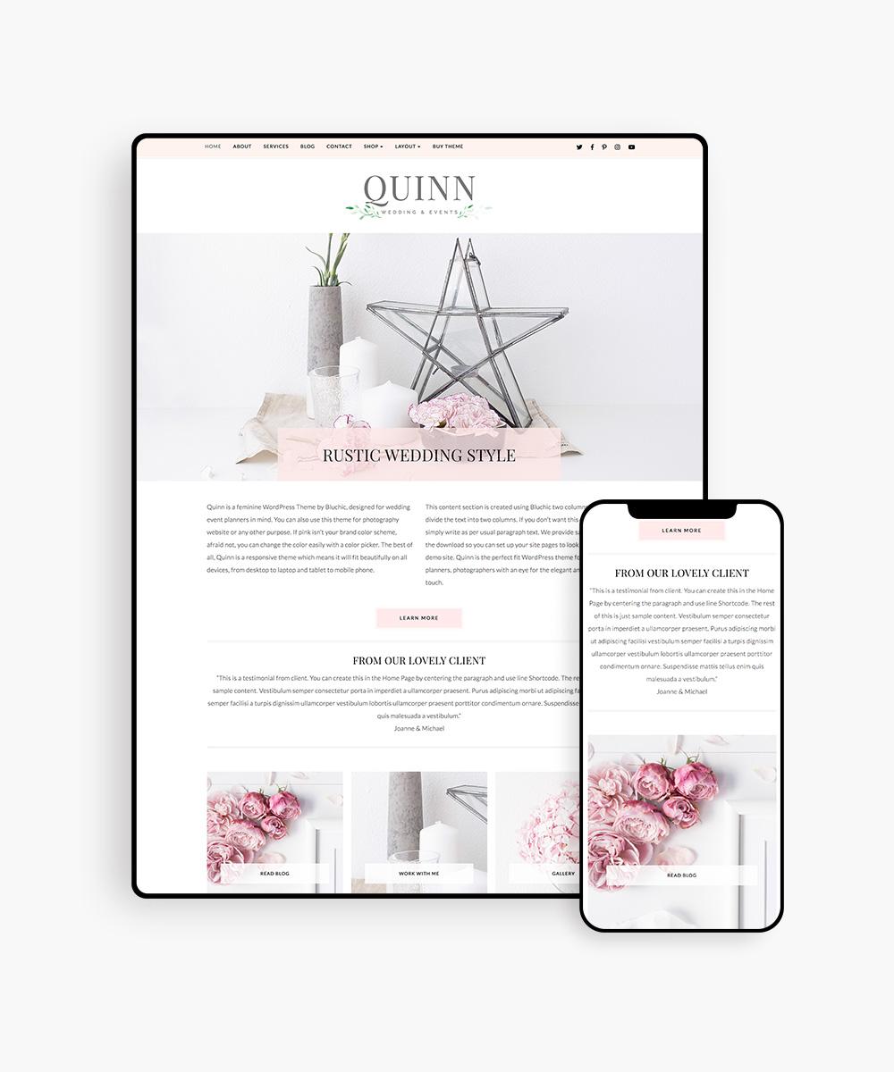 Quinn WordPress Theme