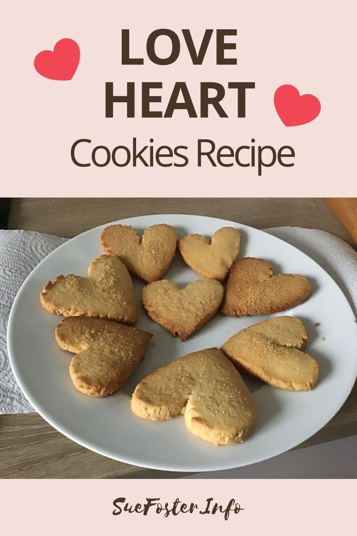 Easy to make Love Heart Cookies Recipe