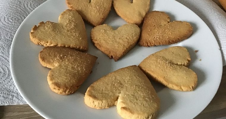 Love Heart Cookies Recipe