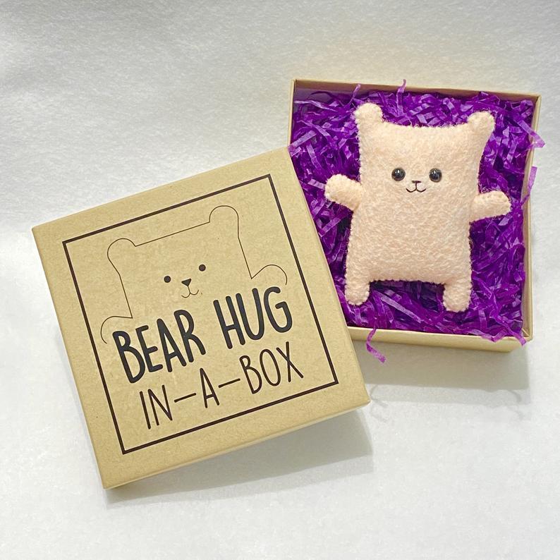Bear hug in a box