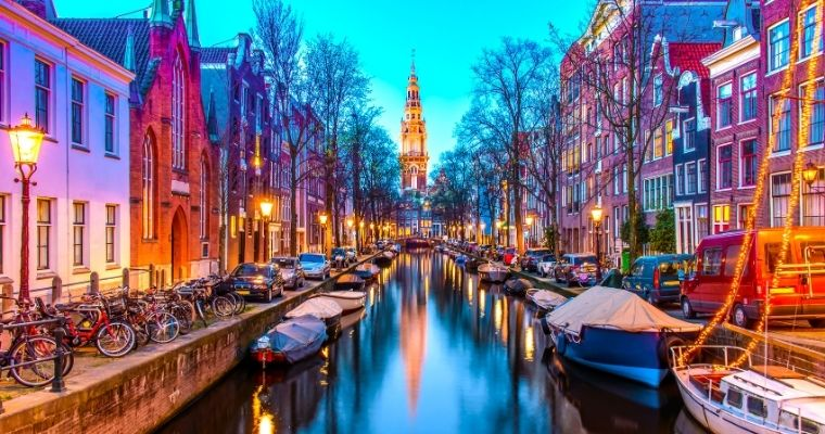How about visiting Amsterdam?
