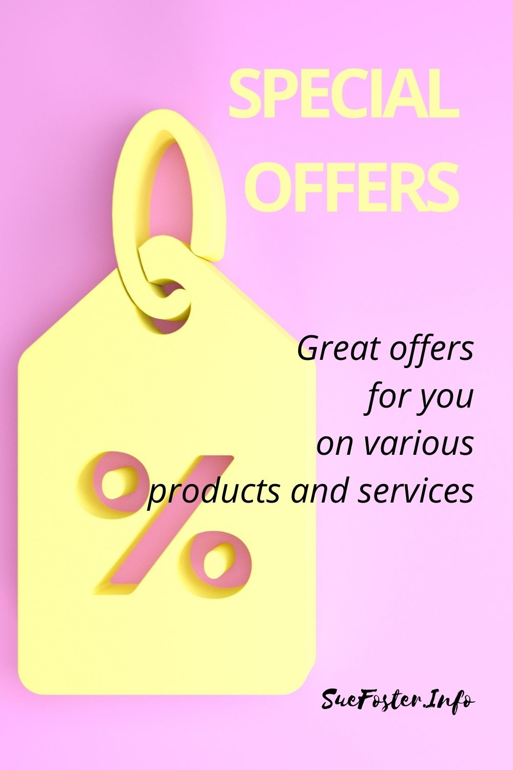 Special Offers - Great offers for you on various products and services.