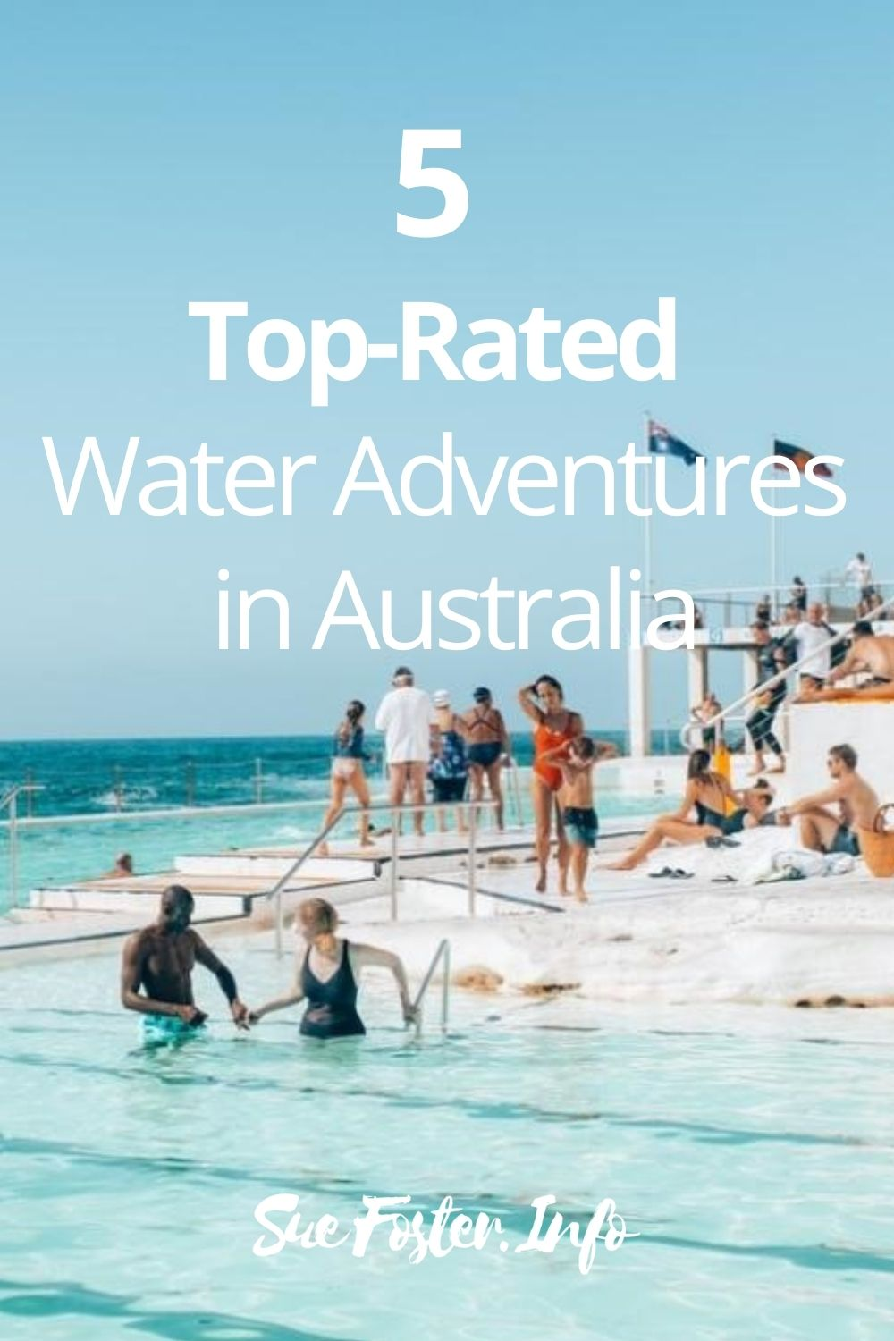5 fantastic water adventures one can experience when visiting Australia.