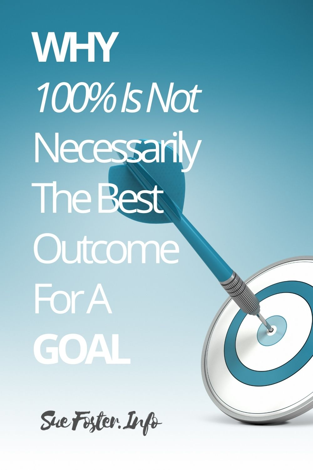 As odd as it sounds, fast growth companies like Google do not expect teams to achieve 100% of their goals. Achieving goals at somewhere between 60% and 80% is preferable as this is why.