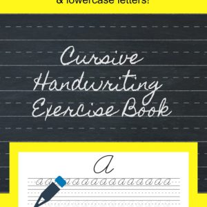 Learn cursive uppercase and lowercase letters then practice cursive writing on the lined paper.
