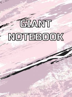 Giant notebook with 500 pages