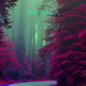 red forest sketchbook