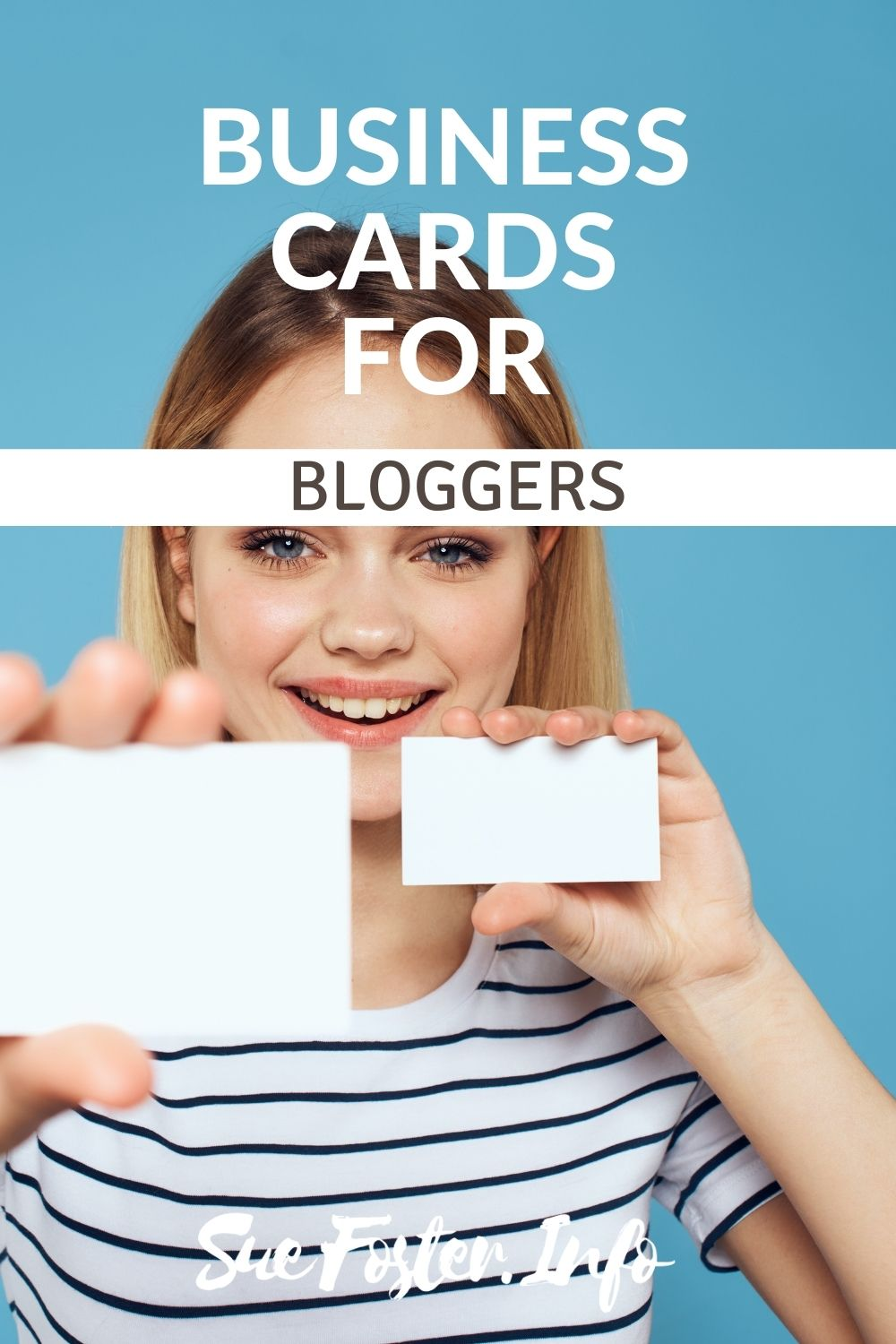 Business card ideas for bloggers.