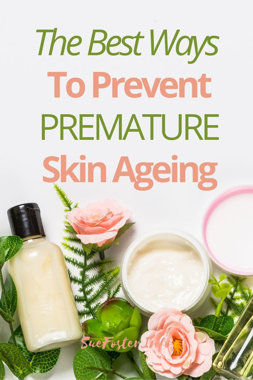 Follow these tips to prevent premature skin ageing.