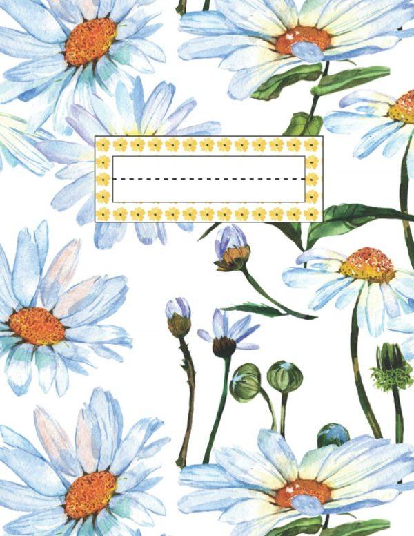 Daisy Composition Notebook