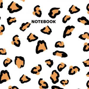 All-Purpose Leopard Print Composition Notebook. College Ruled. 110 Pages. Large 8.5 x 11 Inches.