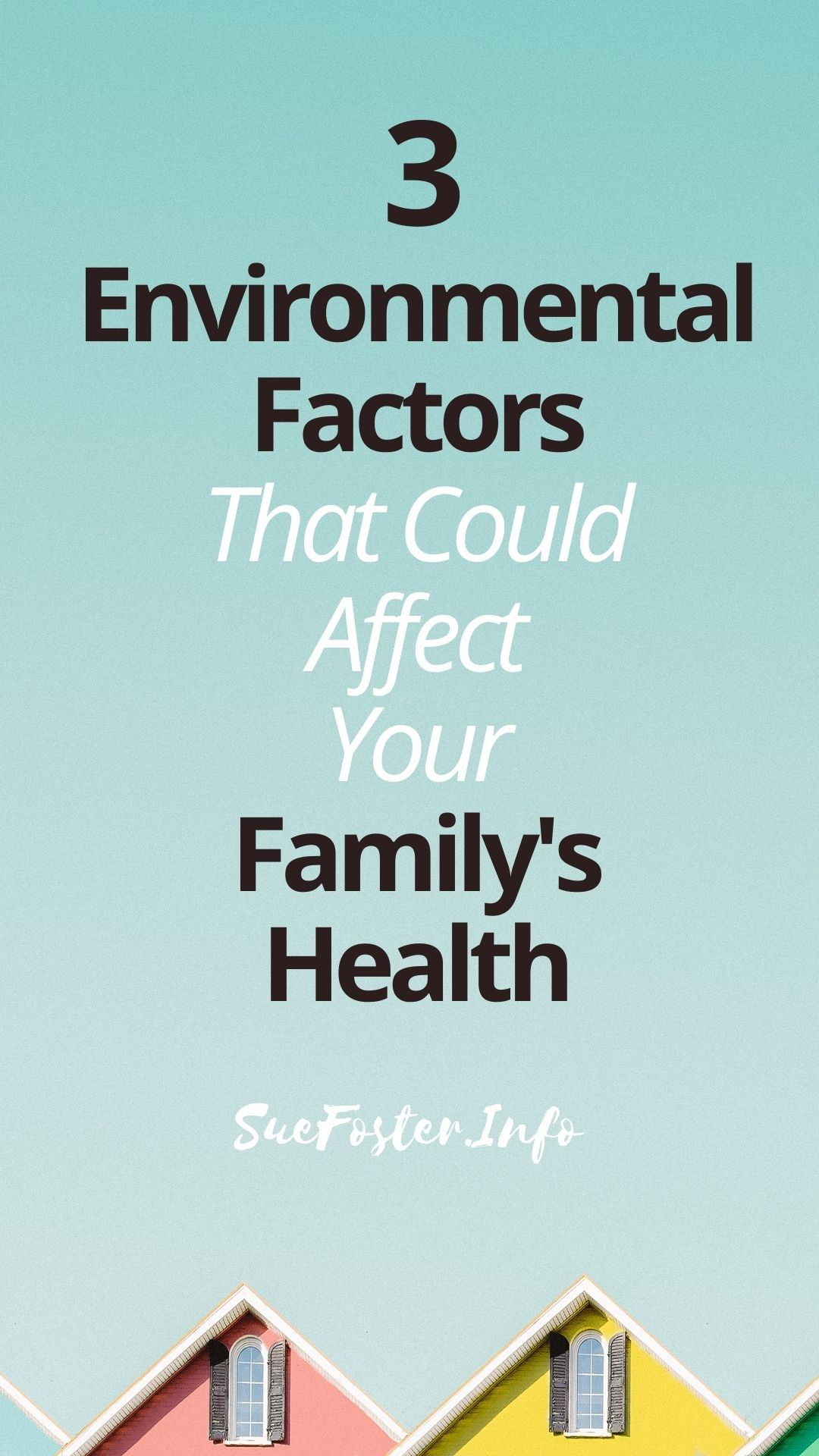 As a parent, your primary concern should be keeping your children safe. Learn environmental factors around your home that can affect your family's well-being.