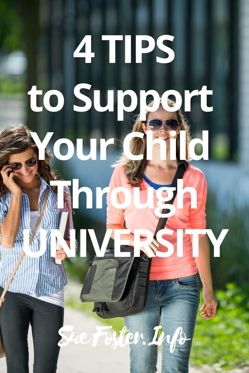 Here are some good ways you can help to support your child through university.