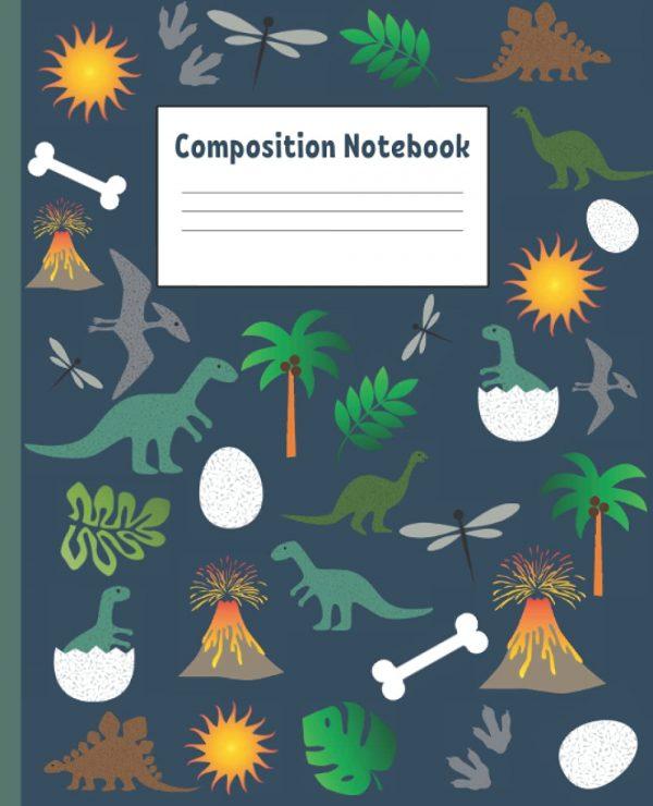 Dinosaur Composition Notebook