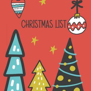 Christmas List Notebook