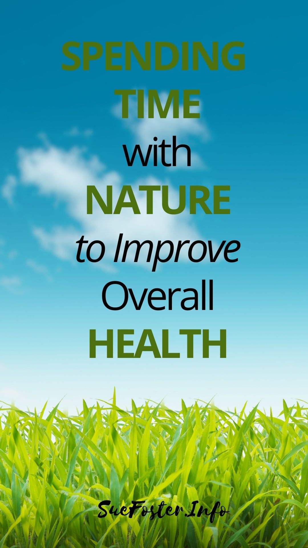 Raising your quality of life may be challenging if you ignore your health. Change your habits and spend time with nature to improve your lifestyle.
