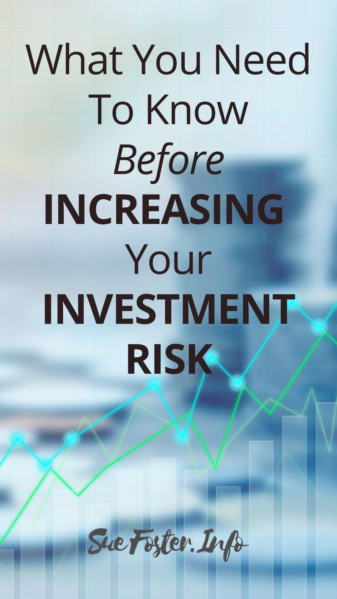 Whether you are an experienced investor or not, it's critical to assess your own risk tolerance before putting your money anywhere.