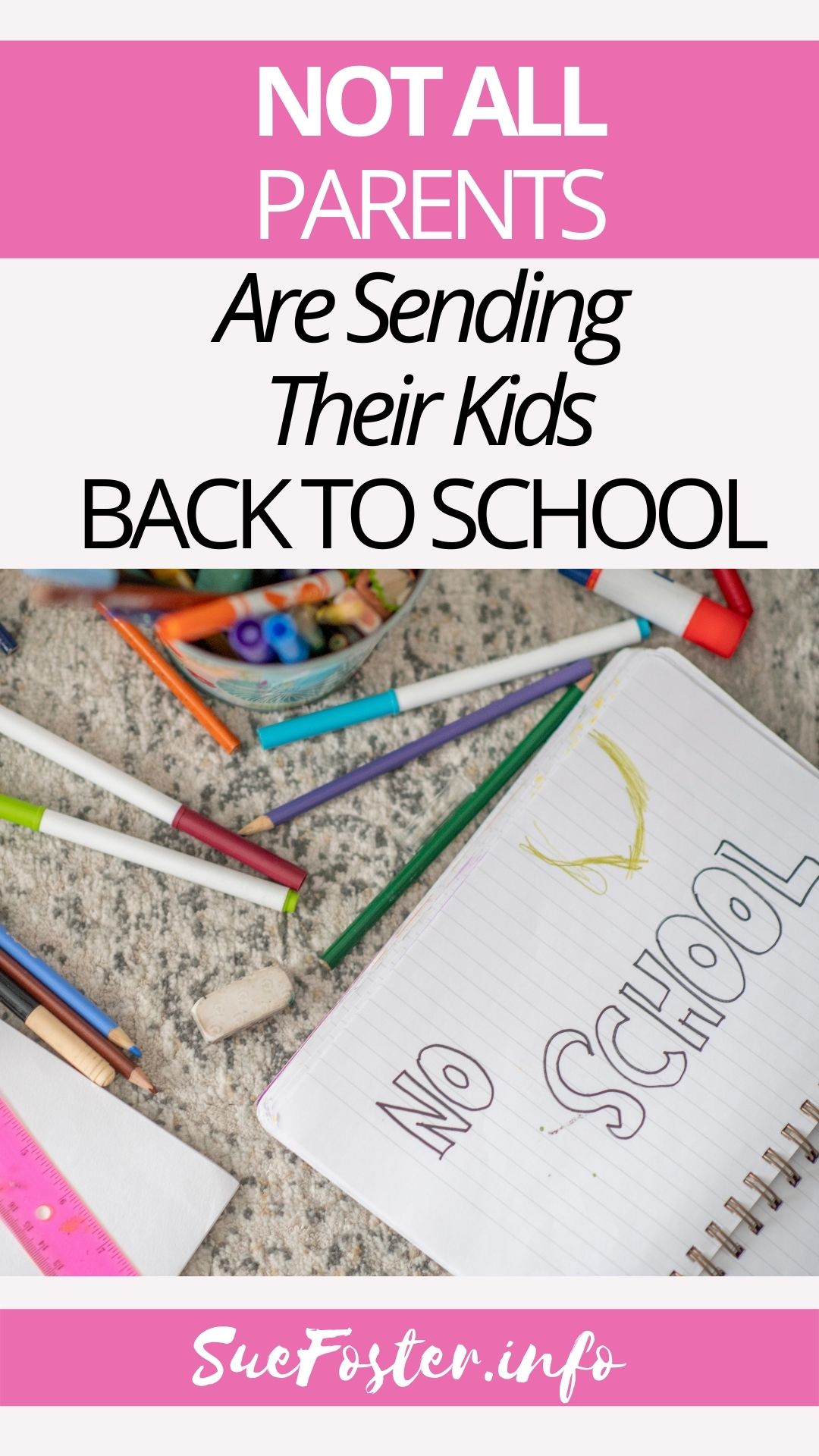 Back to school is looming, however, this time schools are having to remove any Covid safety measures they had in place. Not all parents are 'excited' about sending their children in, as the media portrays.